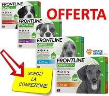 Frontline Combo Cane - 3 pipette per cani  2-10 / 10-20 / 20-40 / oltre 40 kg