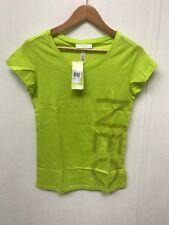 adidas NEO Women's L T-Shirt - Medium - Bright Green - New