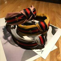 Striped Hair Band Bee Hairband Headband Turban Hair Hoop Woman Hair Accessories