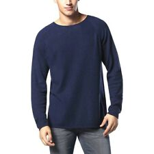 Diesel Men's K-Cozy Relaxed Pullover Sweater – Navy Blue / L