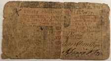 Colonial Currency. New Jersey 30 Shillings note. Apr 10 1759. Fr#Nj-130. #ur3