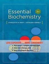 Essential Biochemistry by Pratt and Cornely (2010, Ringbound) - BRAND NEW