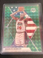 Charles Barkley 2019 Panini Mosaic #252 Green Mosaic USA Basketball
