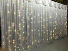 6Mx3M WARM WHITE LED Fairy Lights for Wedding Backdrop