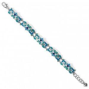 Brighton Casablanca multi blue enamel bracelet  NWT $78