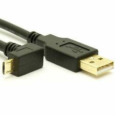 USB 2.0 A to Down Angle Micro-B Cable