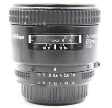 Nikon AF Nikkor 85mm f/1.8 Telephoto Lens Excellent+ No. 244775