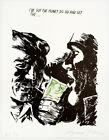 Raymond Pettibon: Untitled (I've Got the Money...) 2018. Signed, Numbered Print