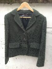 Salvatore Ferragamo Preloved Jacket & Suit Dark Green Made In Italy UK 14 Iconic