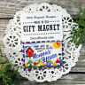 Nonnie Gift Fridge MAGNET * All Family Grandparent names * USA New DecoWords