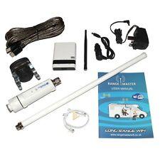 RangeMaster WiFi Booster Long Range Antenna and Router for Motorhomes & Caravans
