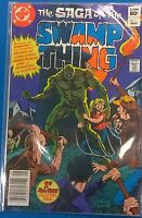 SAGA OF THE SWAMP THING #1 (1982) DC Comics all-new story VG+