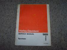 1969 Harley Davidson Sportster Motorcycle Shop Service Repair Manual XLH XLCH