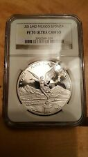 2012 1oz Silver Libertad Proof, NGC PF 70 - flawless, Key-Date,only 1 on eBay!