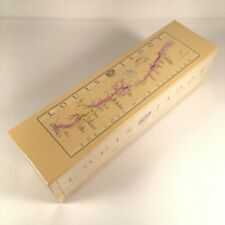 """Louis Jadot The Cote d'Or Vineyard 700 Piece Jigsaw Puzzle/Map Sealed 36""""x12"""""""