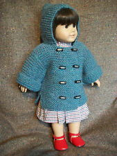 "18"" Doll Knitting Pattern fits American Girl Garter Coat"