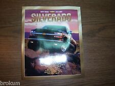 MINT CHEVY SILVERADO 2001 TRUCK OF THE YEAR BROCHURE 48 PAGES (BOX 106)
