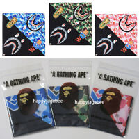 * A BATHING APE Goods BAPE ABC CAMO SHARK BANDANA 3colors From Japan New