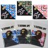* A BATHING APE Goods BAPE ABC CAMO SHARK BANDANA 3colors From Japan New