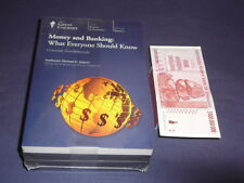 Teaching Co Great Courses  CDs    MONEY and BANKING        new sealed + BONUS