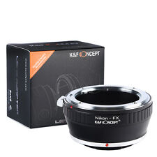 K&F Concept Camera Lens Adapter Ring For Nikon Mount Lens To Fujifilm X-T1 Xpro1