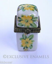 Alastar émaux Primulas fleurs de printemps charnière de la chine bijou box