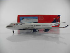 HERPA wings 1:500 Delta Air Lines Boeing 747-400 reg.n674us Artnr. 506915-002