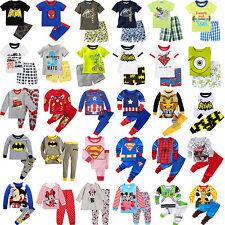 Niñas Bebés Niños Y Ropa Camiseta Suéter Pantalones Pijama Set conjunto
