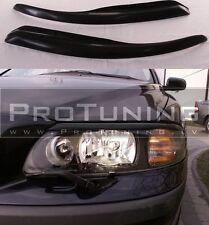 Volvo S60 V70 01-09 eyebrows headlight spoiler lightbrows eye lids brows covers