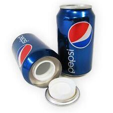 PEPSl CoIa 12oz Can Safe Hidden Storage Secret Diversion Stash Fake Soda B-41016