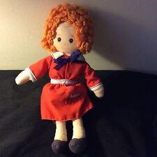 """Annie Plush Knickerbocker doll 9"""" tall"""