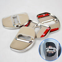 Door Lock Cover Trim Fit For Renault Megane Scenic Laguna Fluence Captur Styling