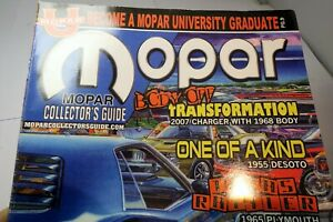 "MOPAR Collector's Guide Magazine December 2009 ""70 HEMI R/T SE Challenger"