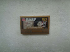 Vintage Audio Cassette BASF Chrome Maxima 90 * Rare From Germany 1989 *