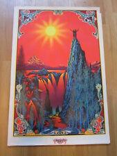 Garden of Eden Vintage 1970 Star City blacklight poster 23x34 Psychedelic