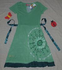 NEUF ✿❀ Robe sequins ceinture stretch femme ✿❀ DESIGUAL ✿❀ Taille XS 34/36