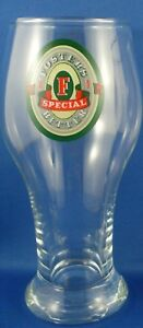 FOSTER'S SPECIAL BITTER Aussie Beer Glass VG Man Cave Bar Breweriana Advertising
