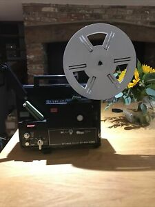 Vintage Elmo Sound ST-800 Magnetic Super 8 Sound Projector with Mic