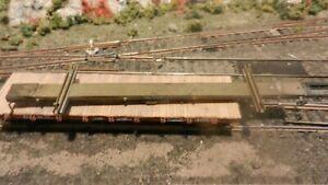 NWSL HO Brass Import Skeleton Log Buggy, Exc.
