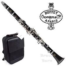 NEW Buffet Crampon E12F Bb Clarinet Silver-Plated Keys FREE SHIPPING BrassBarn