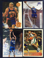 Grant Hill 1995-96 1997 4 Card Lot Inserts Pistons Hall of Fame Topps Fleer