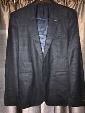 """Men's Thomas Pink  """"Baskerville""""  Navy/Blue Casual /Office Jacket BNWT 46"""" Chest"""