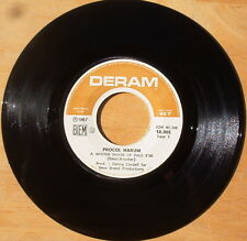 Nice Procol Harum A Whiter Shade of Pale & Lime Street Blues - French VG+