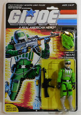 Reproduction packaged G.I. Joe 1986 Laser Trooper { Code Name: Sci-Fi }