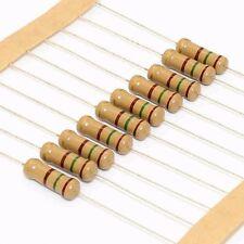 440PCS 0.1-820R 1W Carbon Film Resistor Color Ring Resistor Assortment Kit Set