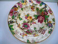 VTG CROWN DUCAL FESTIVAL CHINTZ BOWL MULTICOLOR FLORAL CHINESE LANTERNS