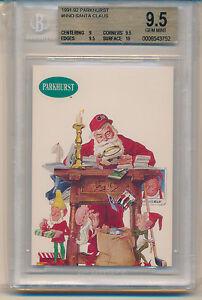 1991 Parkhurst Santa Claus (#NNO) (Subs 1-9/2-9.5's/1-10) BGS9.5 BGS