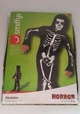 Boy's Girls Skeleton Horror Halloween Fancy Dress Costume size Small