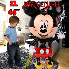 """44"""" Standing Mickey Mouse Birthday Party Balloons Balloon Minnie boy baby shower"""