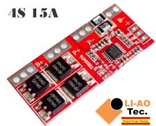 4S 15A Li-ion Lithium Battery 18650 Charger Protection Board 14.4V 14.8V 16.8V